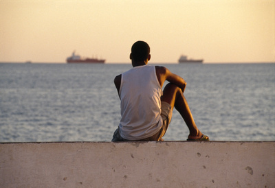 Waiting for a Ship - Bahia, Brazil